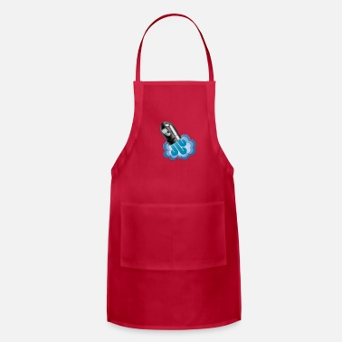 Graphic Art Rocket Cannon Graphic Art - Adjustable Apron