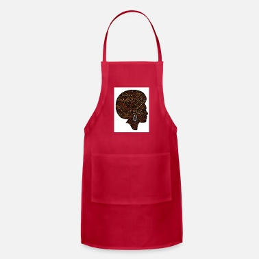 African American woman - Adjustable Apron