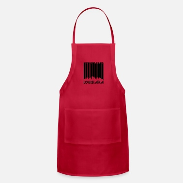 New-orleans Retro New Orleans Skyline - Adjustable Apron