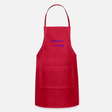 Brooklyn SOMEBODY IN NEW YORK LOVES ME - Adjustable Apron