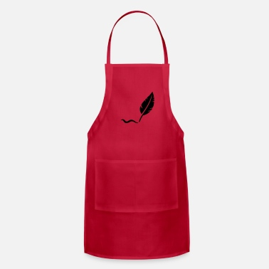 Quill-pen Feahter quill - Apron