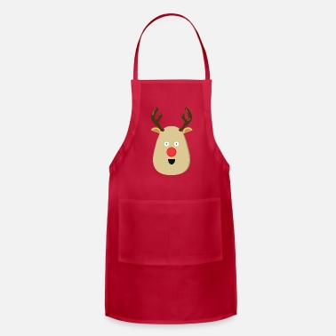 Rudolph the Red Nose Reindeer for Christmas - Apron