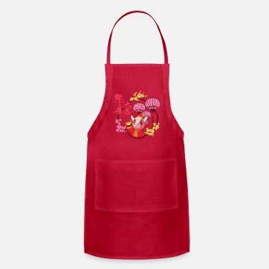 Year Chinese New Year 2021 - Apron