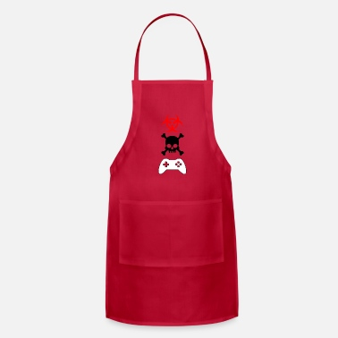 Gamer gamers gamers - Adjustable Apron