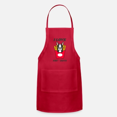 Fast I Love Fry-Days - Apron