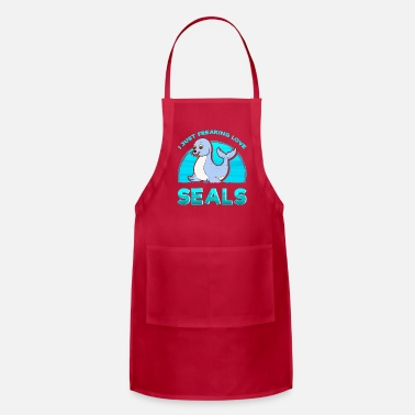 Cute Harbour Common Baby Seal Gift - Apron