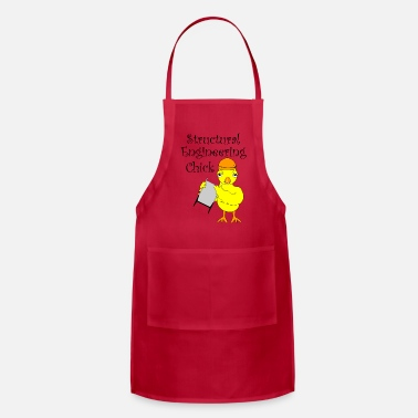 Structural Engineer Structural Engineering Chick - Adjustable Apron