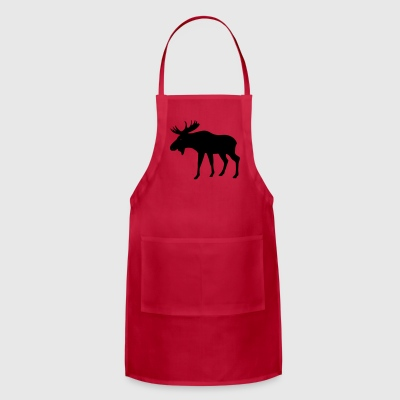 Caution, moose crossing - Adjustable Apron