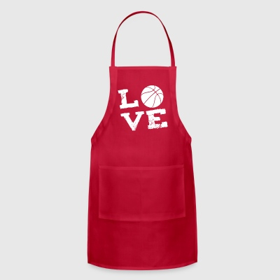 Basketball Sports Love Gift - Adjustable Apron