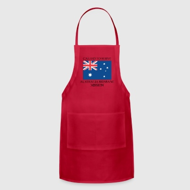 Australia Brisbane LDS Mission Called to Serve - Adjustable Apron