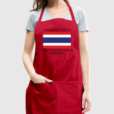 Thailand Bangkok LDS Mission Called to Serve - Adjustable Apron
