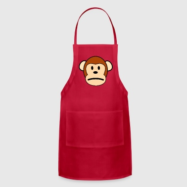 Sad Monkey - Adjustable Apron