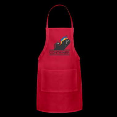 Container Ship - Adjustable Apron