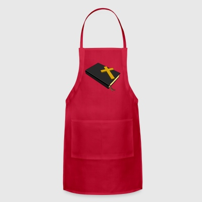Bible And Cross - Adjustable Apron