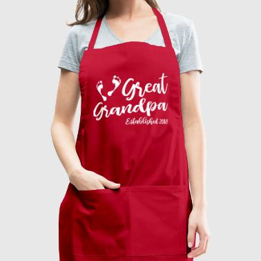 Great Grandpa Established 2018 - Adjustable Apron