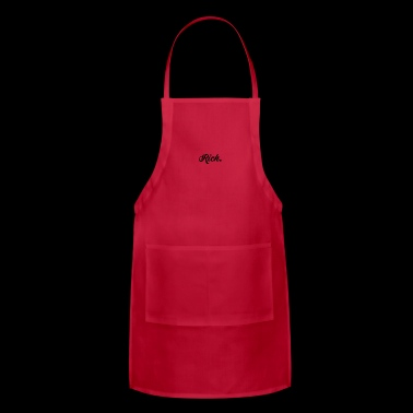 Rich Richard Wealthy Blogger Instagram Gift - Adjustable Apron