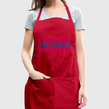 i rave scene - Adjustable Apron