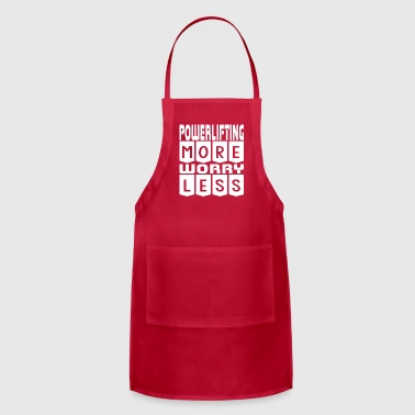 Powerlifting More Worry Less - Adjustable Apron