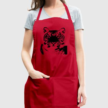 Tiger Plus Size - Adjustable Apron