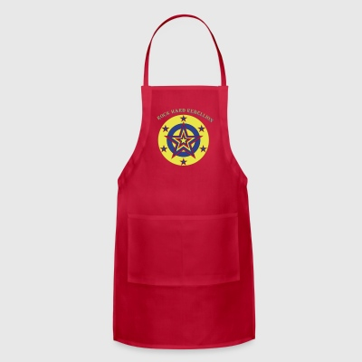 rock hard rebellion - Adjustable Apron