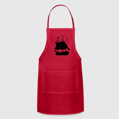 Pirate old ship - Adjustable Apron