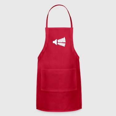 Speaker gift for Sound Engineers - Adjustable Apron