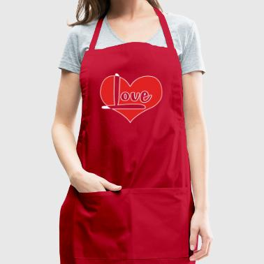 Valentines Day Off - Adjustable Apron