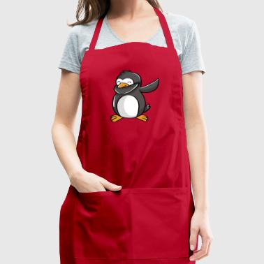 Cute dabbing penguin - Adjustable Apron