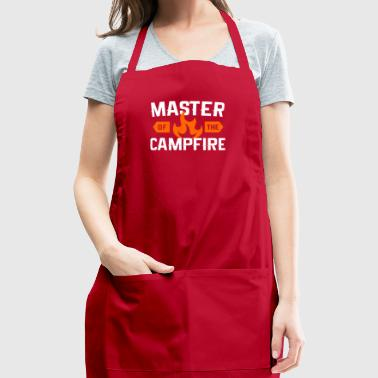 Master of Campfire, Camping - Adjustable Apron