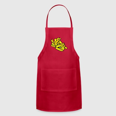 french fries pommes frites fastfood fast food15 - Adjustable Apron