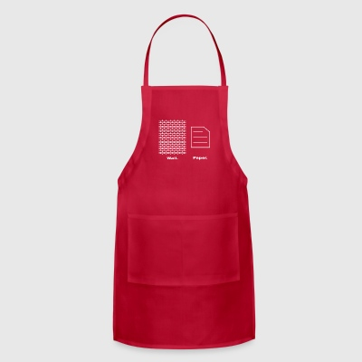 Wall and Paper - Adjustable Apron
