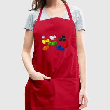 Tetris blocks - Adjustable Apron