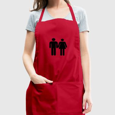 Love and Relationship - Adjustable Apron