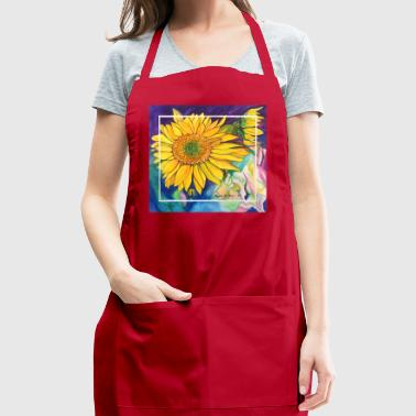 Sunflowers Watercolor - Adjustable Apron