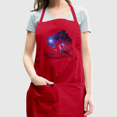 espresso patronum harry potter in galaxy - Adjustable Apron