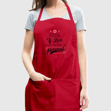 Please Return To Natural - Adjustable Apron
