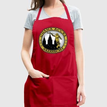 Ghana Accra Mission - LDS Mission Classic Seal - Adjustable Apron