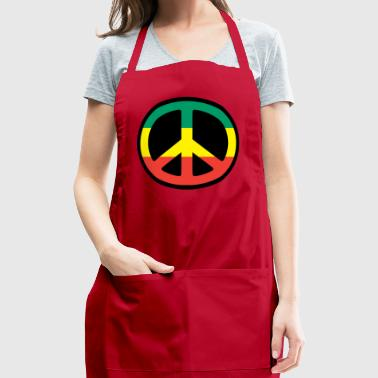 Rasta Peace - Reggae - Rastafari - Freedom - Adjustable Apron