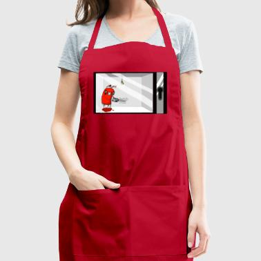 Naughty Figbe in a box - Adjustable Apron