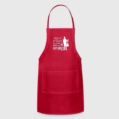 GIRL IN LOVE WITH GUITARIST SHIRT - Adjustable Apron