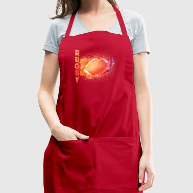rugby tee shirt - Adjustable Apron
