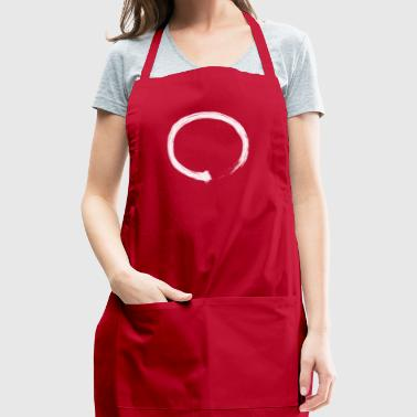 Zen Enso White - Adjustable Apron