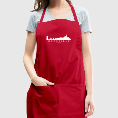 Marseille France Skyline - Adjustable Apron
