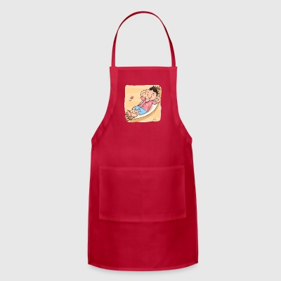relaxing-on-the-beach - Adjustable Apron