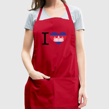I Love Cambodia - Adjustable Apron