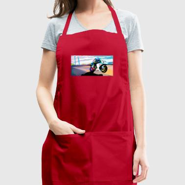 MOTORCYCLE IN MOTION - Adjustable Apron