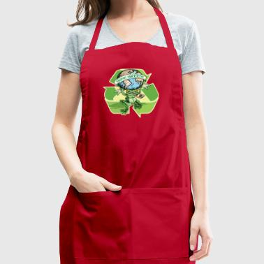 Gone Green Earth Day Frog - Adjustable Apron