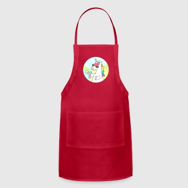 Unicorn Chill Gift Shirt High Quality - Adjustable Apron