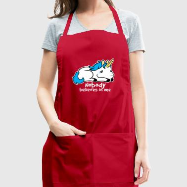 Sad unicorn - Adjustable Apron
