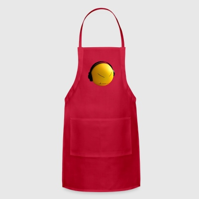 Ball with earphones - Adjustable Apron